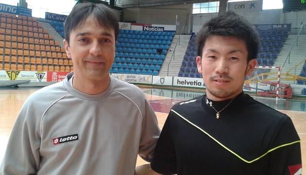 Imanol Arregui y Taku Miura