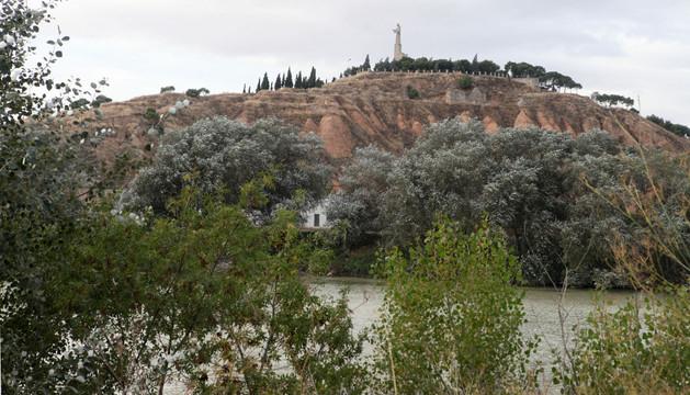 Vista general del Cerro de Santa Bárbara con el Corazón de Jesús