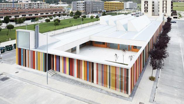 Escuela infantil de Berriozar, en la urbanización de Artiberri