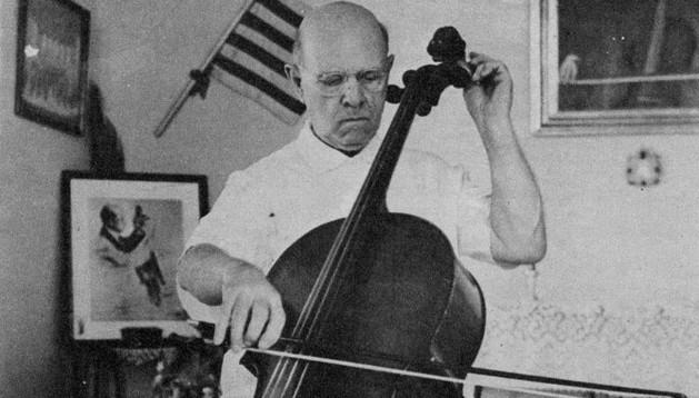 El violonchelista catalán Pau Casals