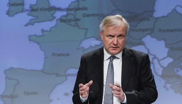 El comisario Olli Rehn.