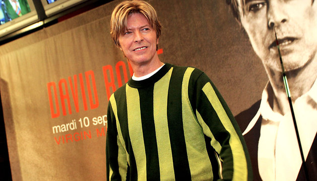 El músico David Bowie