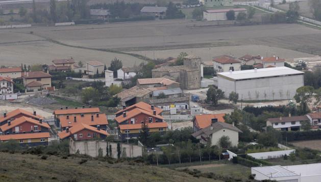 Vista panorámica de la localidad de Zulueta