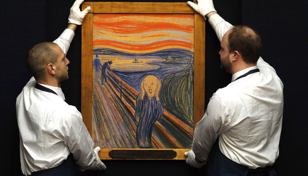 'El grito', de Edvar Munch