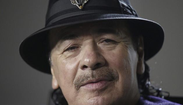 El músico mexicano Carlos Santana