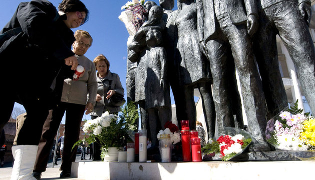 Homenaje a las víctimas del 11M en Alcalá de Henares en 2012