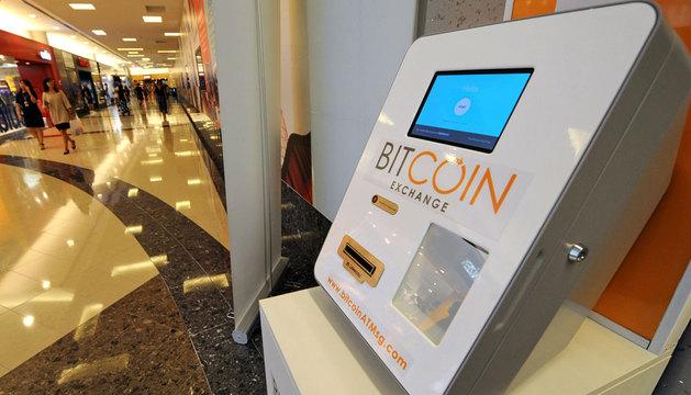 Máquina dispensadora de bitcoins en Singapur