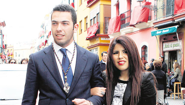 Chabelita y su pareja, Alberto Isla