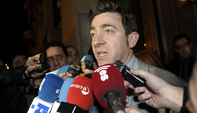 Roberto Jiménez, a la salida del comité regional.