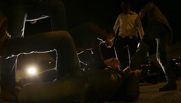 La mayoría de las agresiones se producen en el Casco Antiguo y en San Juan, en Pamplona