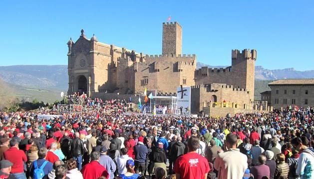 Imágenes enviadas por los lectores de Diario de Navarra de las Javieradas 2014.