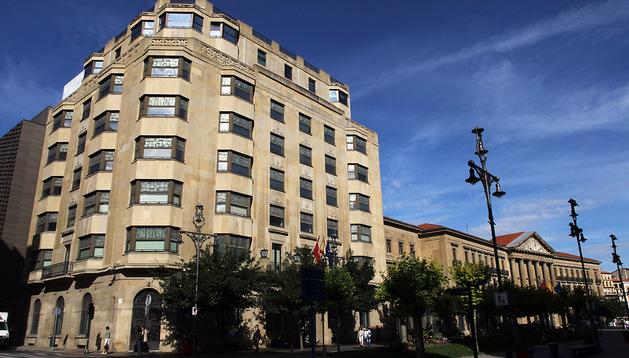 Sede del departamento de Economía y Hacienda