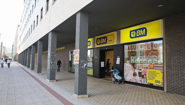 Imagen de uno de los supermercados de Sarrigurren