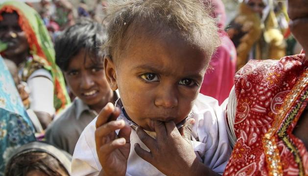Malnutrición infantil en Pakistán