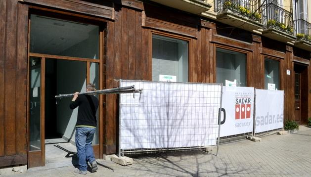 Las obras concluirán en un mes y medio para abrir a finales de abril.