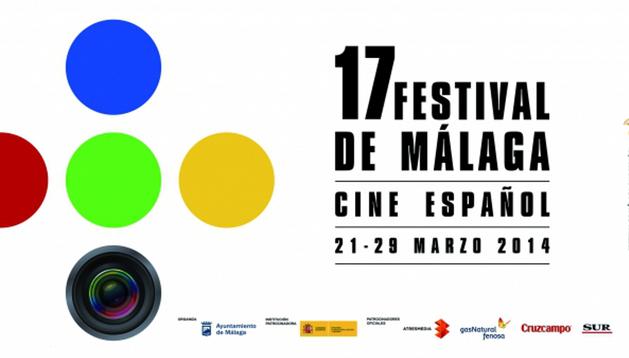 Cartel del Festival de cine español de Málaga 2014