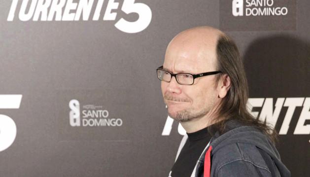 El actor y realizador Santiago Segura, a su llegada a la celebración de la finalización del rodaje.