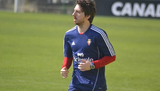 Regreso al trabajo de Osasuna para preparar el partido ante el Barcelona en el Camp Nou