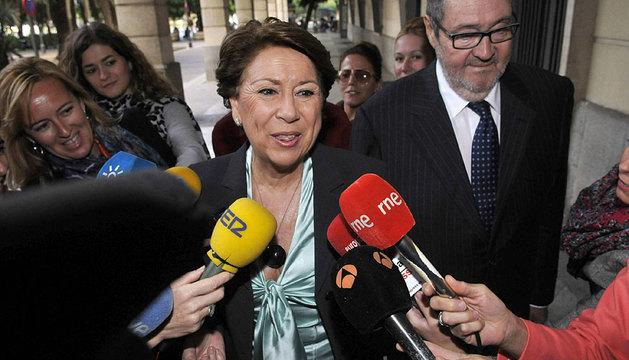 La exministra Magdalena Álvarez.