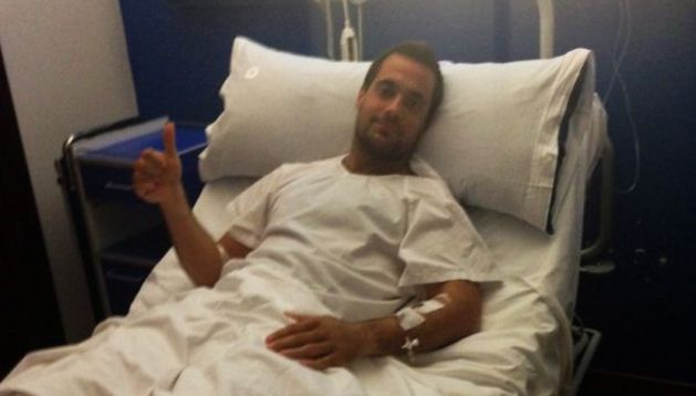 Bengoetxea, intervenido con éxito de su lesión en el tobillo derecho