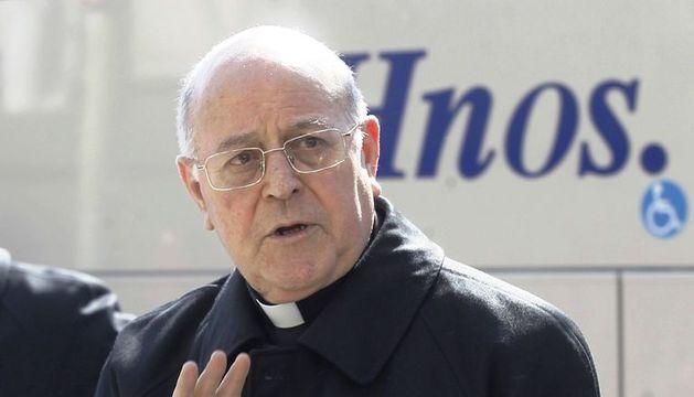 Fotografía tomada este martes en Madrid del arzobispo de Valladolid, Ricardo Blázquez, que ha sido elegido nuevo presidente de la Conferencia Episcopal Española