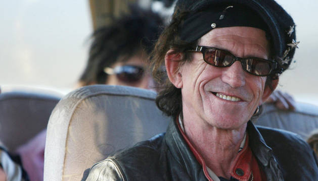 El 'rolling stone' Keith Richards en una imagen de 2006