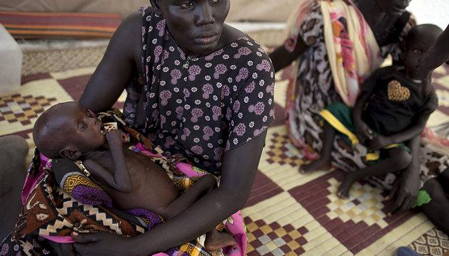 Dispensario en Sudán gestionado por Médicos del Mundo.