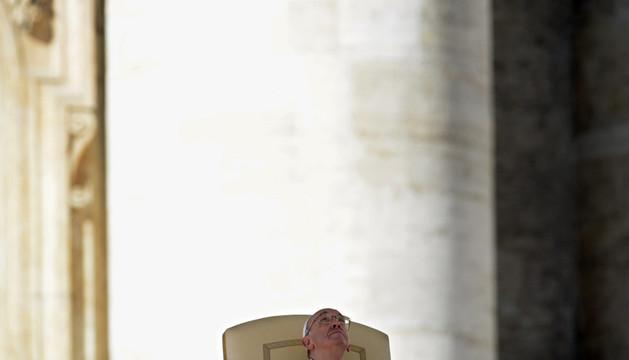 El Papa Francisco el pasado 5 de marzo