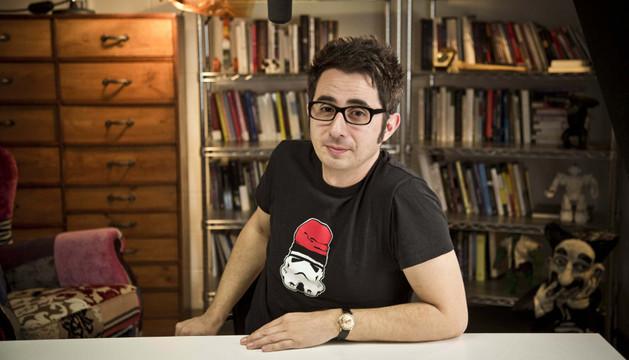 El cómico Berto Romero
