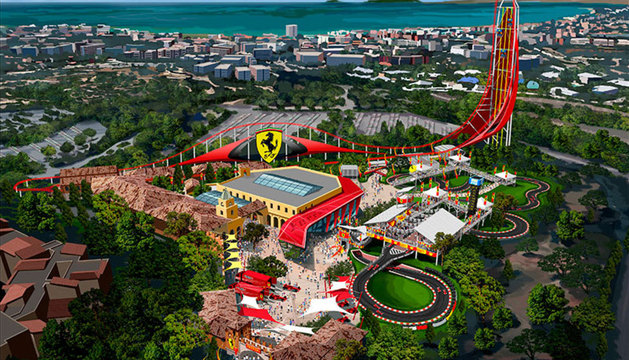 Recreación del futuro parque.