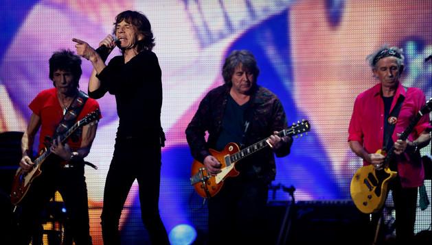 Concierto de los Rolling Stones en Shangai.
