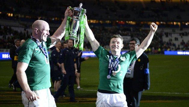 Irlanda gana el Seis Naciones en la despedida de O'Driscoll