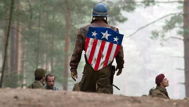 Fotograma de 'Capitán américa'.