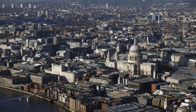 VIsta de Londres desde 'The Shard', uno de los rascacielos de la ciudad