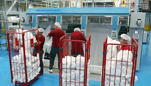Imagen de archivo de la lavandería industrial de Tasubinsa.