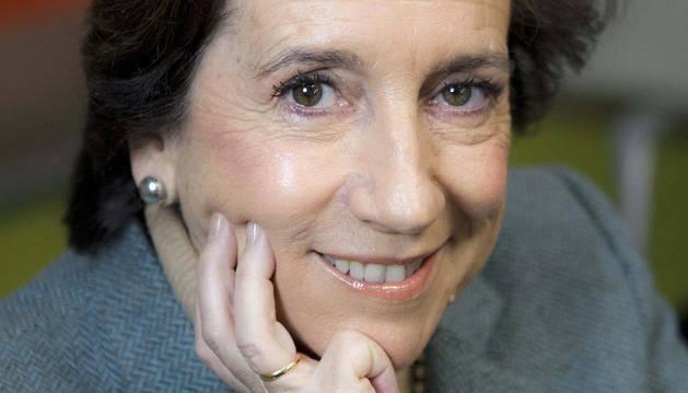 La periodista Victoria Prego