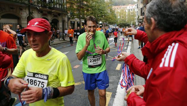 La maratón, entre todos