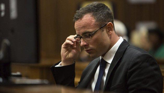 Pistorius, este lunes en el juicio en Pretoria