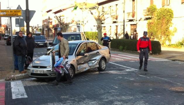 Tras el accidente del pasado viernes, en el cruce de las calles Zubiarte y Pérez Goyena
