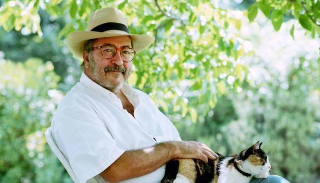 El periodista Manu Leguineche en una imagen del año 2000
