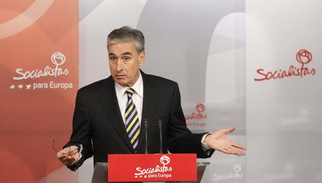 El número dos de la candidatura socialista al Parlamento Europeo, Ramón Jáuregui