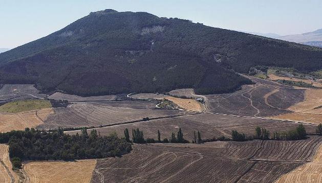 El monte San Cristóbal