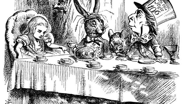Ilustración de 'Alicia en el País de las Maravillas', de Lewis Carroll