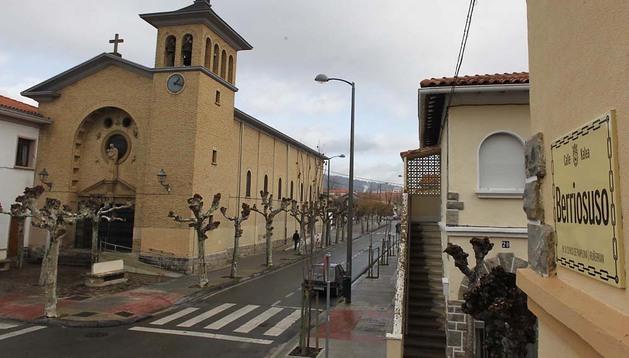 Calle Berriosuso, antigua Marco Goñi