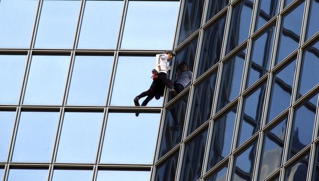 Alain Robert, el 'Spiderman francés'
