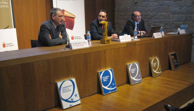 José Ignacio Larretxi, Iñaki Morcillo e Iñaki Arana