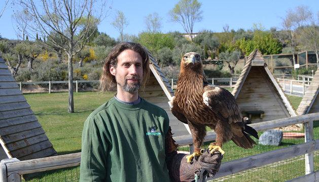 La nueva águila imperial de Sendaviva.