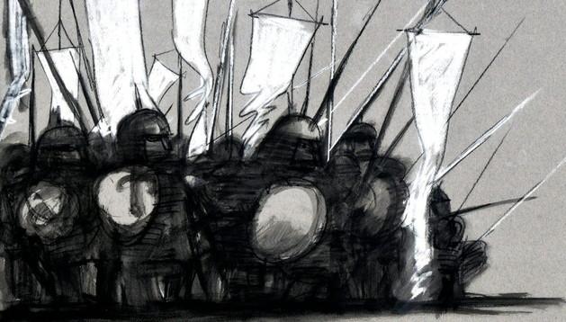 Imagen de la película basada en los cronoscopios de Cortázar