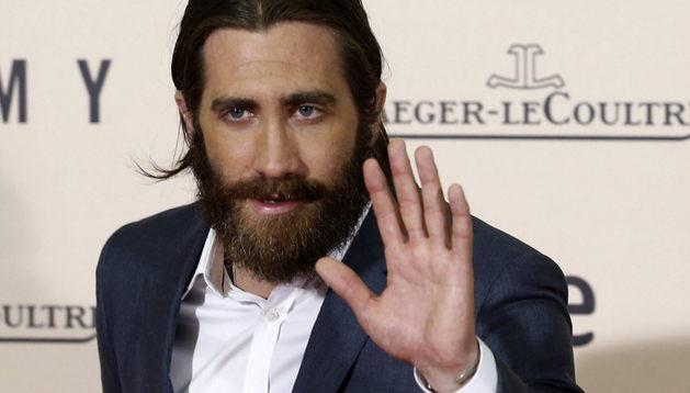 Jake Gyllenhaal durante el photocall del preestreno de 'Enemy'