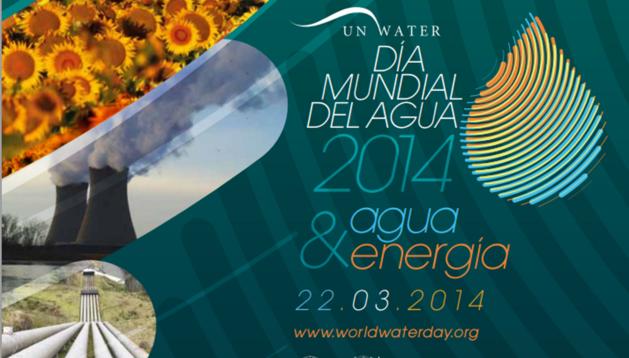 Cartel oficial del Día Mundial del Agua